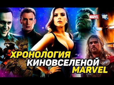 Хронология киновселенной Марвел онлайн видео