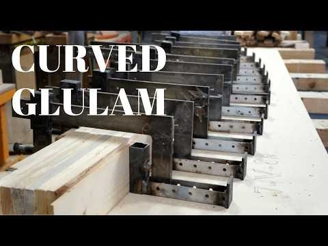 Glulam Structure Pt.1 - Making varying geometry beams