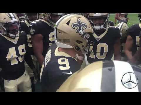 Drew Brees Pregame Huddle: Saints at Rams | 2019 Week 2
