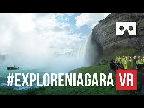 A look at Niagara Falls in VR - 360° - Video Thumbnail