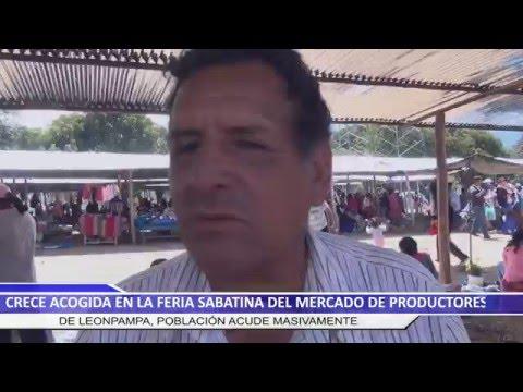 CRECE ACOGIDA EN LA FERIA SABATINA DEL MERCADO DE PRODUCTORES