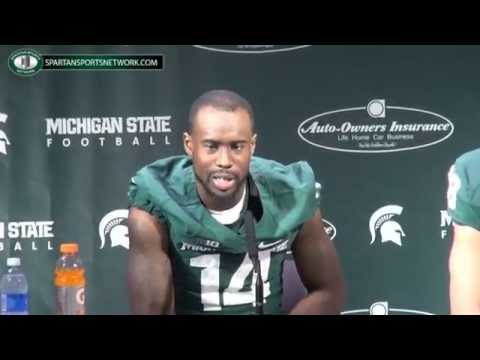 Connor Cook Interview 8/29/2014 video.