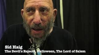 Exclusive: Actor Sid Haig aka Captain Spalding!