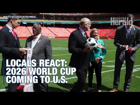 World Cup 2026 at Gillette stradium? New Englanders weigh in: