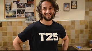 Focus T25 T-Shirt, Taekwondo Blue Belt, Insanity 3rd Week - Celebration Week!