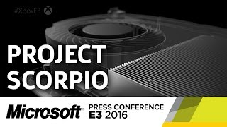 Project Scorpio Announcement - E3 2016 Microsoft Press Conference by GameSpot