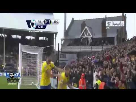Fulham vs Arsenal 1 3 All Goals & Highlights 24.08.2013 HD