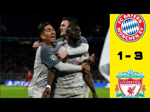 Bayer Munchen Vs Liverpool 1-3 Highlight & Allgoals, Leg 2 Liga Champions 2019..