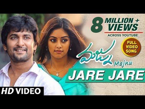 Majnu Video Songs | Jare Jare Full Video Song | Nani | Anu Immanuel | Gopi Sunder