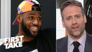 Video 'Why do the Lakers always get their man?'- Disgruntled Knicks fan Max Kellerman | First Take MP3, 3GP, MP4, WEBM, AVI, FLV Juni 2019