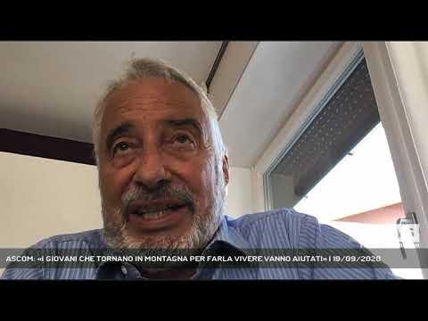 ASCOM: «I GIOVANI CHE TORNANO IN MONTAGNA PER FARLA VIVERE VANNO AIUTATI» | 19/09/2020