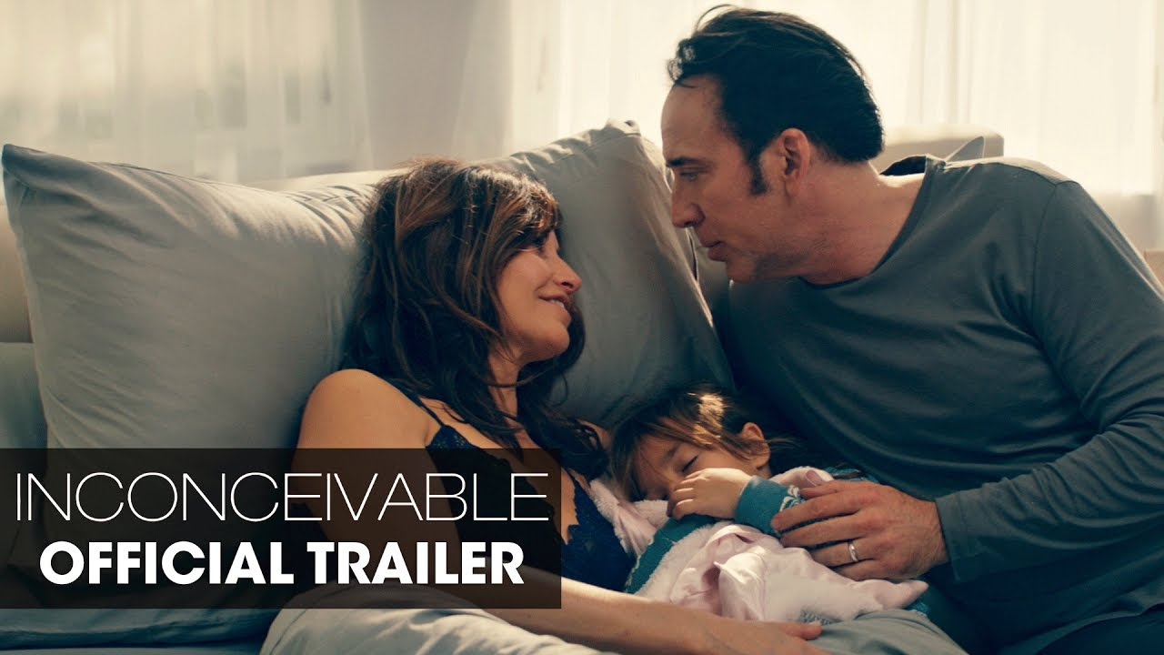 Deception hits Home for Nicolas Cage & Gina Gershon in Surrogate Psychopath Thriller 'Inconceivable' (Trailer) with Faye Dunaway