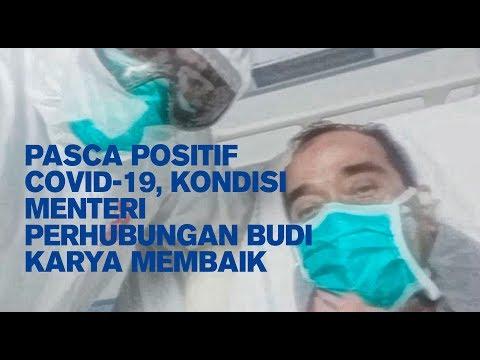 Pasca Positif COVID-19, kondisi Menteri Perhubungan Budi Karya Membaik