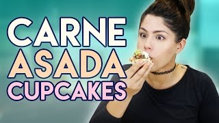 How to Cook: Carne Asada Cupcakes