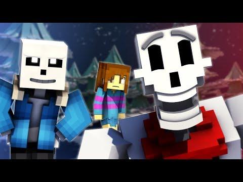 """To The Bone"" | Minecraft Undertale Music Video [PACIFIST]"