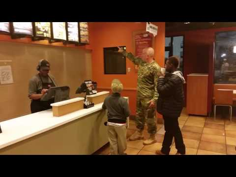 Soldiers Goes Viral for Showing Kindness at a Taco Bell