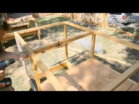 Build a chicken coop in a million easy steps