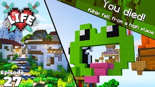 X Life : LDSHADOWLADY'S PARKOUR KILLED ME! Ep 27 Modded Minecraft Let's Play