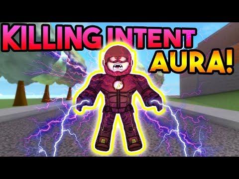 NEW KILLING INTENT AURA!  ROBLOX: Super Power Training Simulator
