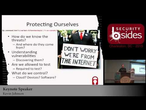 (Keynote Speaker) Security Circus - Kevin Johnson