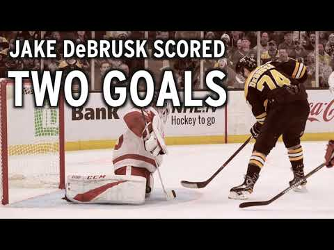Video: Bruins vs. Red Wings Game Recap