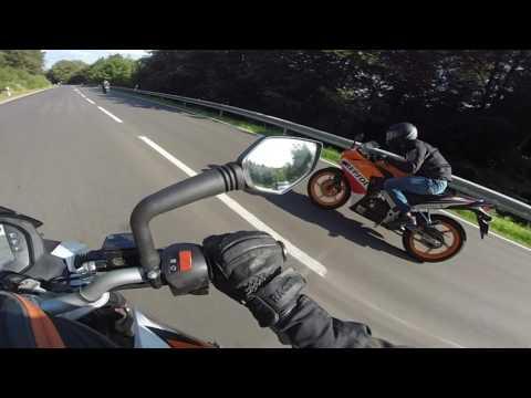 KTM DUKE 125 AND YAMAHA YZF R 125