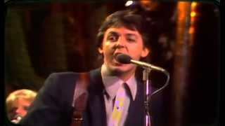 Paul McCartney & The Wings - Goodnight Tonight 1979 - YouTube