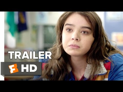The Edge of Seventeen Official Trailer 1 (2016) - Hailee Steinfeld Movie (видео)