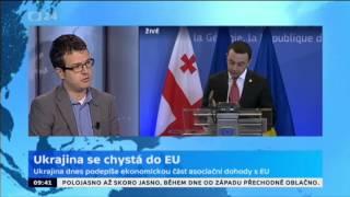 Ukrajina se chystá do EU