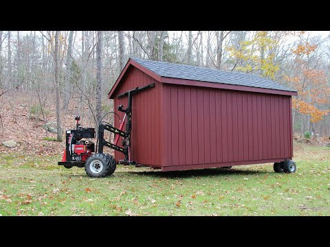 The Barn Yard's Premier Shed Delivery Service