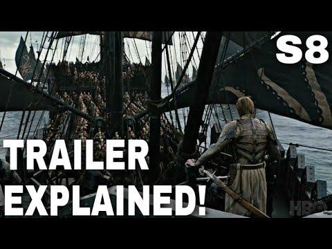 Official Season 8 Trailer Explained! - Game of Thrones Season 8 Trailer Breakdown