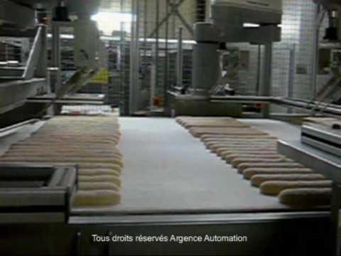 Traitement Automatisé de Baguette en Boulangerie Industrielle – Industrial Bakery
