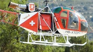 BIG Scale RC Turbine Helicopter SA-315B Lama