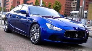 Maserati Ghibli Spied On The Road