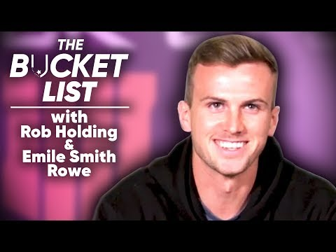 The Bucket List With Arsenal's Next Premier League Champions! | Rob Holding & Emile Smith Rowe