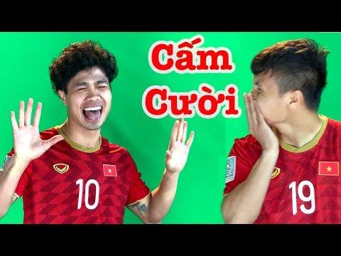 Siêu Hài Hước: Công Phượng trêu Quang Hải cười rũ rượi ở buổi ra mắt áo ĐT Việt Nam - Thời lượng: 2 phút, 59 giây.