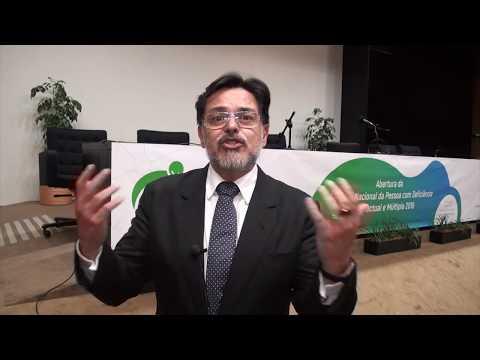 Eduardo Barbosa na abertura da Semana Nacional da Pessoa com Deficiência Intelectual e Múltipla