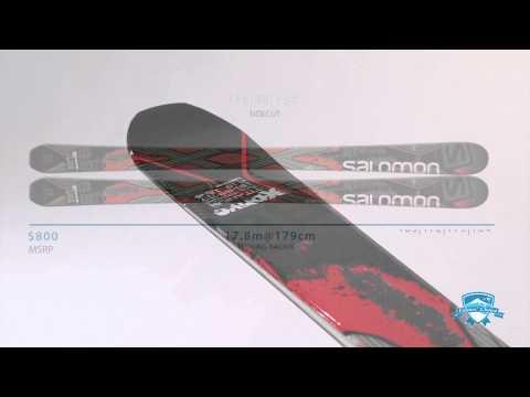 2015 Salomon X Drive 8 8 FS