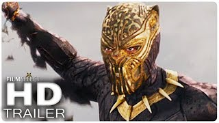 Video BLACK PANTHER Trailer 2 (Extended) Marvel 2018 MP3, 3GP, MP4, WEBM, AVI, FLV Maret 2018