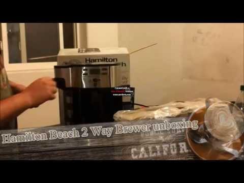 Reason why i love this Hamilton Beach coffee maker (Two Way Brewer coffee machine).