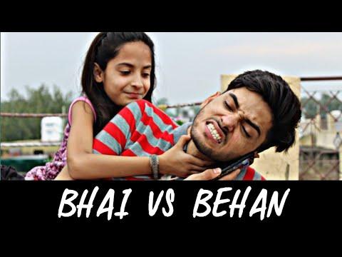 Video Bhai Behan Ka Pyar    Raksha Bandhan Special    Bhai Vs Behan    Funny Video 😘❣️ download in MP3, 3GP, MP4, WEBM, AVI, FLV January 2017