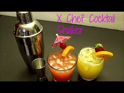 X Chef Cocktail Shaker Test and Review