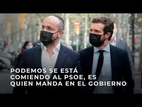 Podemos se está comiendo al PSOE, es quien manda en el Gobierno