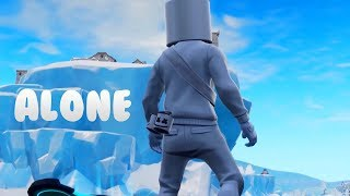 Alone - Marshmello ( fortnite Music Video )