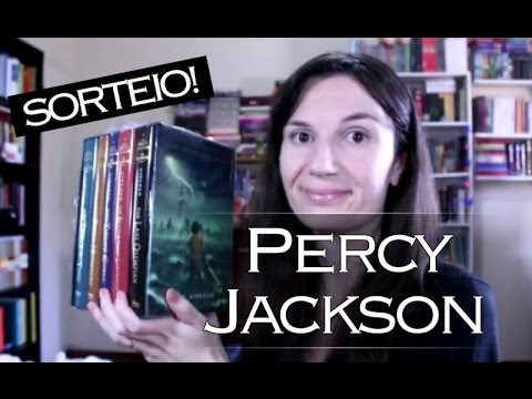 Então, eu li Percy Jackson