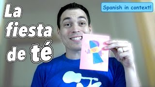 "Click CC for subtitles in ENGLISH or SPANISH!Here's a video to practice Spanish body parts, clothing words, colors, and much more in this video about a guy, a thirst, a wardrobe, a princess and a puppet!If you don't get everything the first time, just keep watching. Every time you should pick up more!Enjoy! This is my first attempt to do a different style of video while teaching Spanish! I think it turned out kind of fun and different!If you liked the video PLEASE let me know in the comments section. If this video does well, I would love to try out other videos like this.Special thanks to ""la princesa Julia"" and Lucas, the puppet.This video was originally done in English in collaboration with alepromakeup96. See the English version on her youtube channel here:https://www.youtube.com/watch?v=yDhEaK0O0fQ*some words for clothing might be different depending on the country, notice I used ""short"" instead of pantalón corto, but ""camiseta"" instead of ""playera"" or other words!"