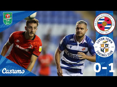 Reading 0-1 Luton Town Carabao Cup 2020/21