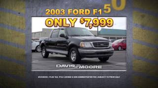 More Truck for the Buck at Davis-Moore Chevrolet!
