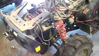 1. 2004 Polaris Sportsman 700 carburetor boot and rough Idle 1