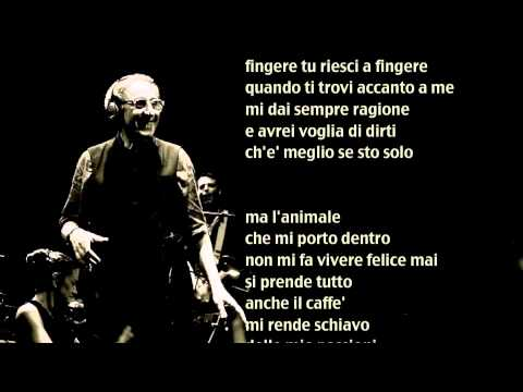, title : 'Franco Battiato - L'animale - Base musicale con testo'